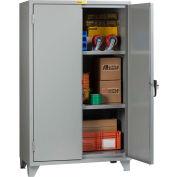 "Little Giant® 12 Gauge High Capacity Storage Cabinet, 2 Adjustable Shelves, 24""W x 60""D"