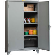 "Little Giant® 12 Gauge High Capacity Storage Cabinet, 3 Adjustable Shelves, 24""W x 48""D"