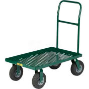Little Giant® Nursery Platform Truck T810P-10SR-G-LU Perforated 36x24 Lip Deck 1000 Lb.