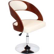 """Lumisource Pino Chair - 23-1/2""""L x 22""""W x 30""""-34""""H, Cream/Cherry"""