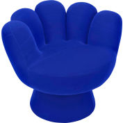 "Lumisource Mitt Chair®- 32"" Dia x 27-1/2""H, Blue"