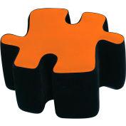 """Lumisource Puzzotto™- 22-1/2"""" Dia x 13-1/2""""H, Orange"""