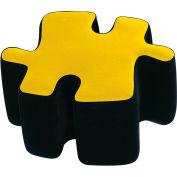 """Lumisource Puzzotto™- 22-1/2"""" Dia x 13-1/2""""H, Yellow"""