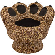 """Lumisource Paw Chair™- 25""""L x 30-1/2""""W x 25-1/2""""H, Leopard"""