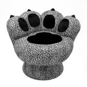 "Lumisource Paw Chair™- 25""L x 30-1/2""W x 25-1/2""H, Snow Leopard"