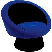 "Lumisource Saucer Chair- 26-1/2""L x 32-1/2""W x 28""H, Blue"