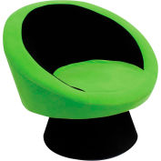 "Lumisource Saucer Chair- 26-1/2""L x 32-1/2""W x 28""H, Green"