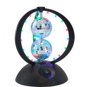 """Lumisource Disco Planet - 6"""" Diameter  X 8-3/4""""H - Multi-Color"""