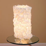 "Lumisource Lace Table Lamp - 10"" Diameter X 18""H - Cream"