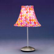 """Lumisource Retro Table Lamp - 9"""" Diameter X 15-1/2""""H - Red"""