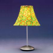 "Lumisource Retro Table Lamp - 9"" Diameter X 15-1/2""H - Green"