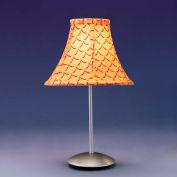 """Lumisource Retro Table Lamp - 9"""" Diameter X 15-1/2""""H - Orange"""