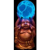 "Lumisource Buddha Electra® - 6"" Diameter X 11""H - Blue"