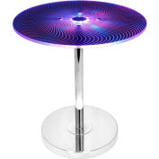 "Lumisource Spyra Side Table - 20""L x 20""W x 20-1/2""H, Multi"