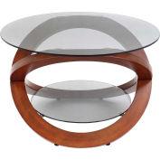 """Lumisource Linx Coffee Table - 27-1/2""""L x 21-1/2""""W x 18""""H, Walnut"""