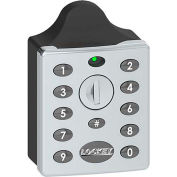LockeyUSA Electronic Keypad Locker Lock EC790S - Vertical Keypad - Silver