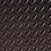 Crown #540 Workers-Delight™ Supreme Deck Plate W/ Zedlan Foam Backing 4'X75' Black
