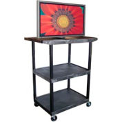 A/V Cart w/ Wide Top - 32x24x48-1/4