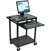 A/V Presentation Station w/ Keyboard Tray - 24x18x33