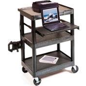 "Presentation Station w/ Shelf & Laptop Tray - 33-1/2""H"