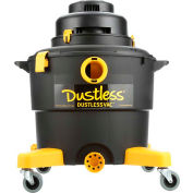 Dustless 16 Gallon Wet Dry Vacuum with 12' Hose - D1603
