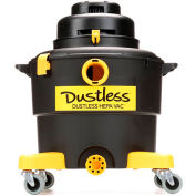 Dustless 16 Gallon HEPA Wet Dry Vacuum with 12' Hose - D1606
