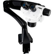 LW Scientific DMM-S12N-PA77 DM-Dual Mag Stereomicroscope W/Pneuflex-Arm, 10x - 20x