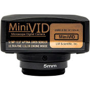 LW Scientific MVC-U5MP-EMTN 5.1MP MiniVID USB 2.0 Digital Camera with Software