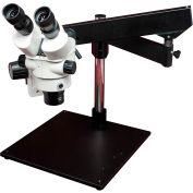 LW Scientific Z4M-BZM7-BMAT Z4 Zoom Binocular Stereomicroscope W/Heavy-Base Boom, 7x - 45x