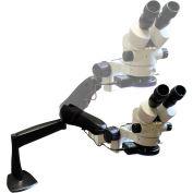 LW Scientific Z4M-BZM7-PA77 Z4 Zoom Binocular Stereomicroscope W/Pneuflex-Arm, 7x - 45x