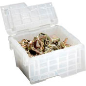 ORBIS Flipak® Attached Lid Container FP03 - 11-13/16 x 9-13/16 x 7-11/16, Clear