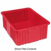 "LEWISBins Divider Box NDC3080 22-3/8"" x 17-3/8"" x 8"", Red - Pkg Qty 4"