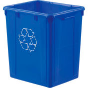 Orbis® Recycling Bin 22 Gallon Npl 270 - Blue - Pkg Qty 4