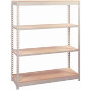 """Wire Decking Panel For Rivet Rack, 48""""W x 48""""D, 600# Capacity, Gray"""