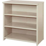 "Lyon Steel Shelving 36""W x 18""D x 39""H Closed Counter Style 4 Shelves Gy Starter"