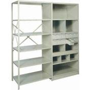 "Shelf Divider, 18""Dx9""H Gray (12) pcs"
