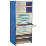 "Modular Drawer For 24""D Shelving, 5""H Gray"
