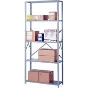 """Lyon Steel Shelving 20 Gauge 42""""W x 18""""D x 84""""H Open Style 5 Shelves Py Starter"""