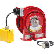 ReelCraft Cord Reel, Duplex Outlet Box