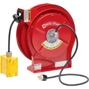 ReelCraft Cord Reel, Duplex Outlet Box GFCI