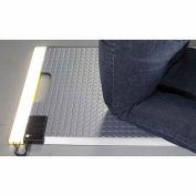 Ergomat® Portable LED Kneeling Mat 1.5' x 2' Stainless