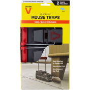 Victor 2-Pack Quick-Kill Mouse Snap Trap, 2 Traps/Pack - M122
