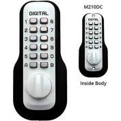 Lockey Digital Door Lock M210 Mechanical Keyless Deadbolt Double Combination, White