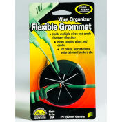 "Master® Flexible Grommet, 00209, 2-3/8"" Diameter, Black"