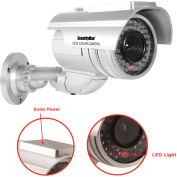 Robust Dummy Outdoor/Indoor Dome Camera Solar Powered with LED, ROBUSTDUMMY
