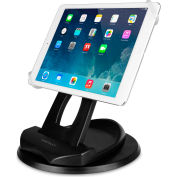 Macally 2-in-1 Swivel Desk Stand & Hand Strap Holder for iPad/Tablet