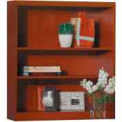 Safco® Aberdeen Series 3 Shelf Quarter Round with 1 Fixed Shelf Cherry