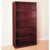 Safco® Corsica Series 5 Shelf Bookcase Mahogany