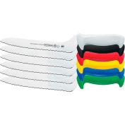 """Mundial 5620-9E - Cimeter Sandwich Knife, Black, 9"""" - Pkg Qty 6"""