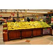 "Modular Banana Table, 36""L x 42""W x 48-1/2""H, Hardwood, African Limba"